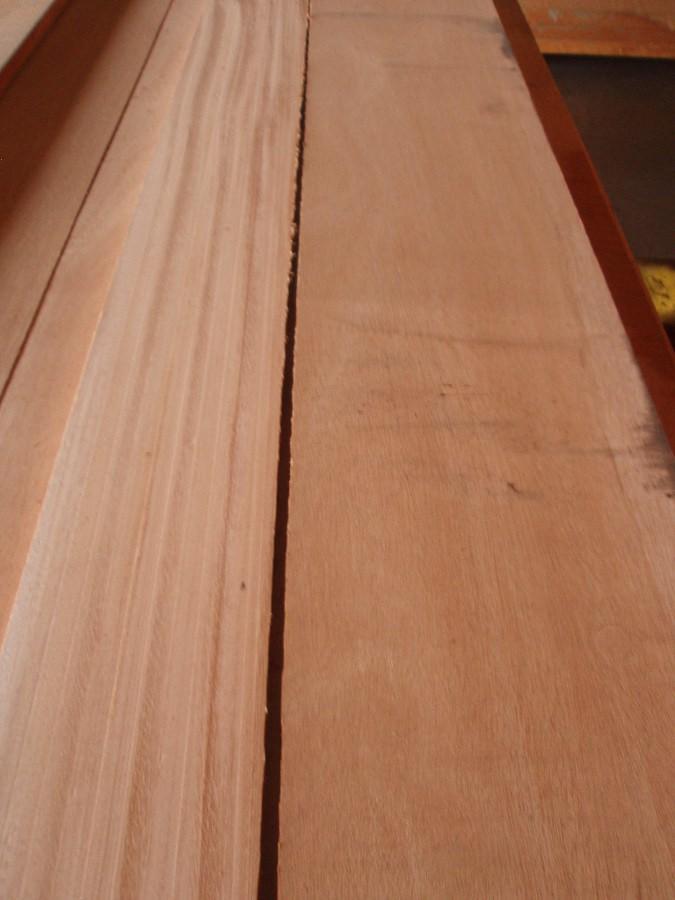 Quarter vs. Flat Sawn African mahogany