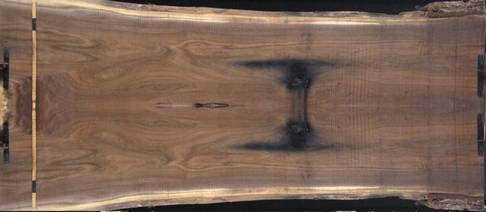 slabs 761-8&9 simulated bookmatch net size 1.75″ x 50″ x 12′ -Both Rough slabs $2600.  These slabs will surface flat to approx. 1.75″