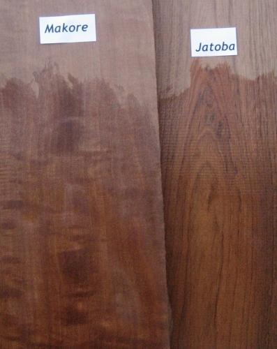 Makore (African Cherry) VS Jatoba (Brazilian Cherry)