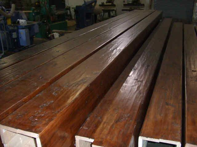Knotty Alder Box Beams
