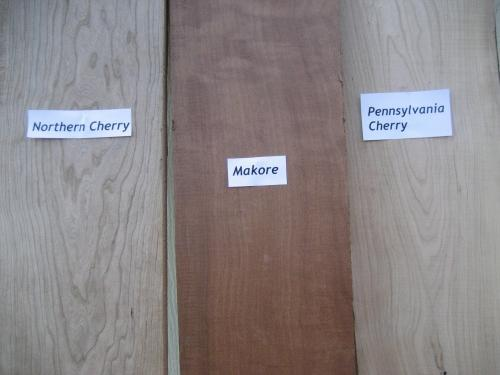 American Cherry vs. African Cherry (Makore)