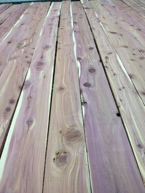 #1 & Better, Kiln Dried Aromatic Cedar Lumber