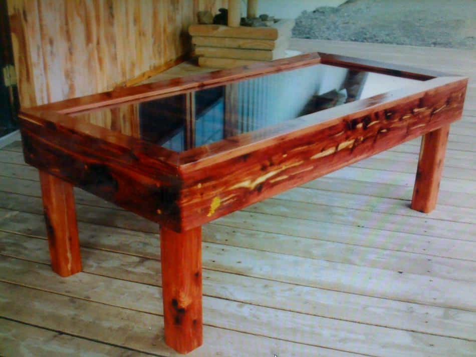 Aromatic Red Cedar Table
