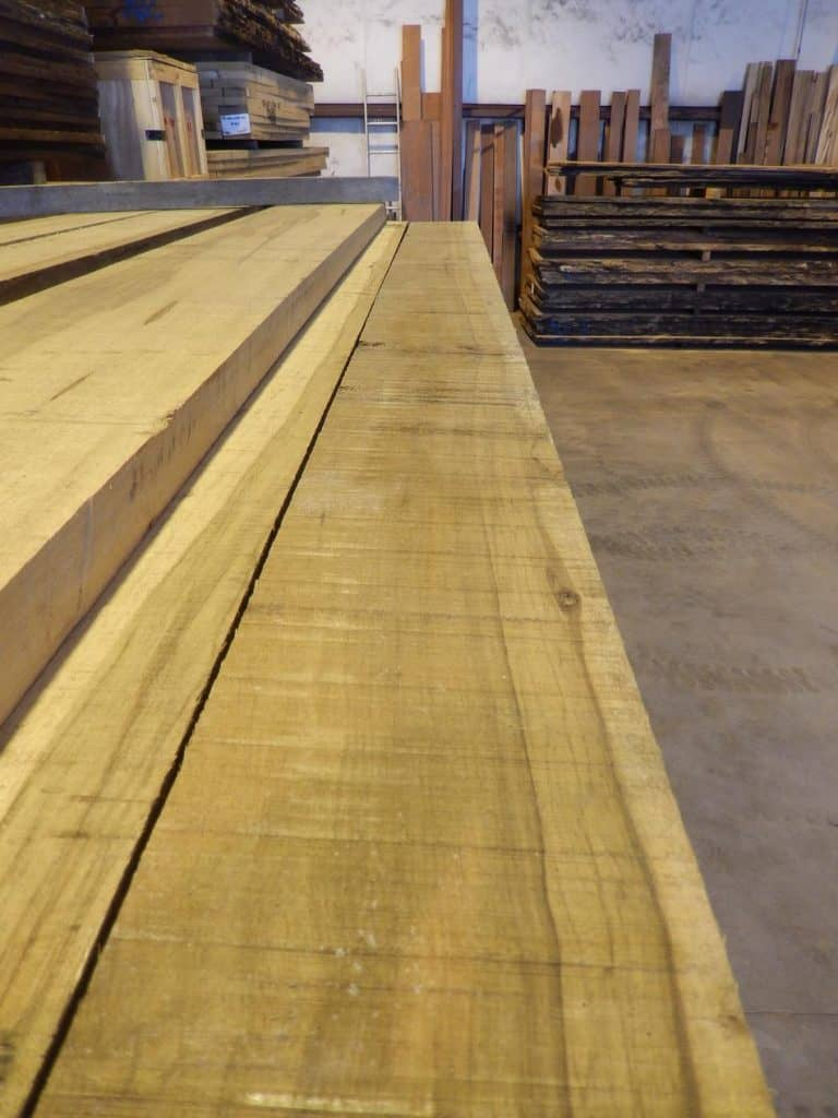 Black Limba Rough Cut Lumber