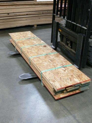 Resawn Canarywood Packaged to Ship