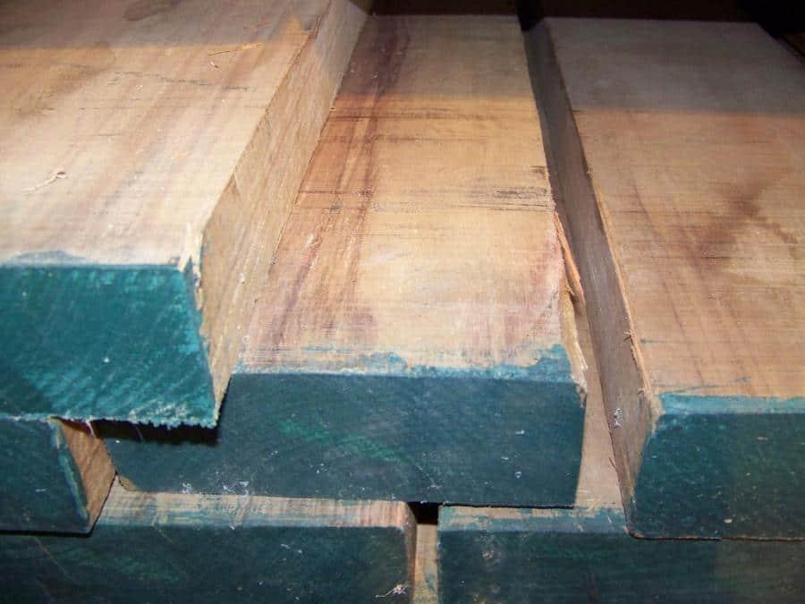 8/4 Canarywood Lumber Rough