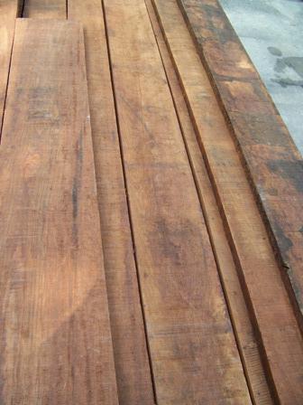 Caribbean Rosewood Rough Cut