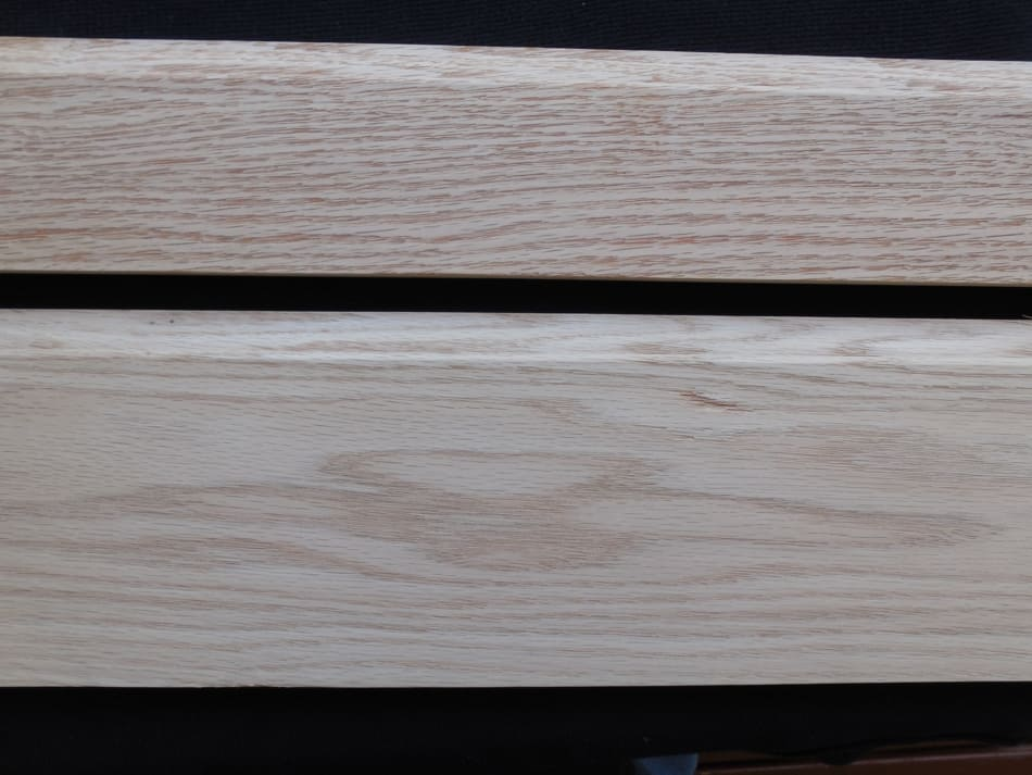 Contemporary Red Oak Mouldings