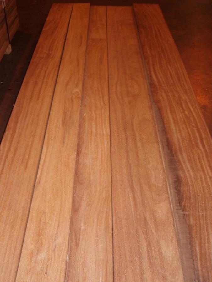 Cumaru Lumber Surfaced 2 sides