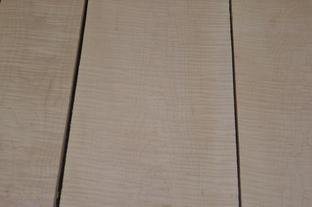 Curly Soft Maple Lumber