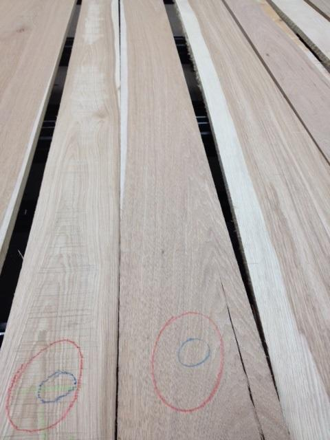Select & Better Grade Hickory- Unselected for Color