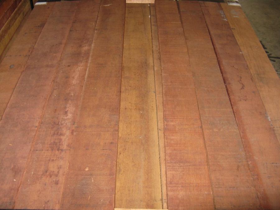 Jatoba Lumber Close Up