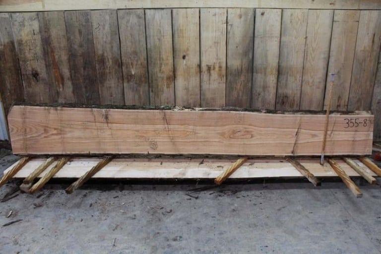 Slab 355-8, Rough Size: 2″ x 16″-20″ x 12′ $600 SOLD P.R. OPHQ