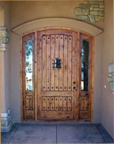 Knotty Alder Door