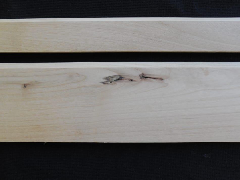 Knotty Alder Simple Mouldings