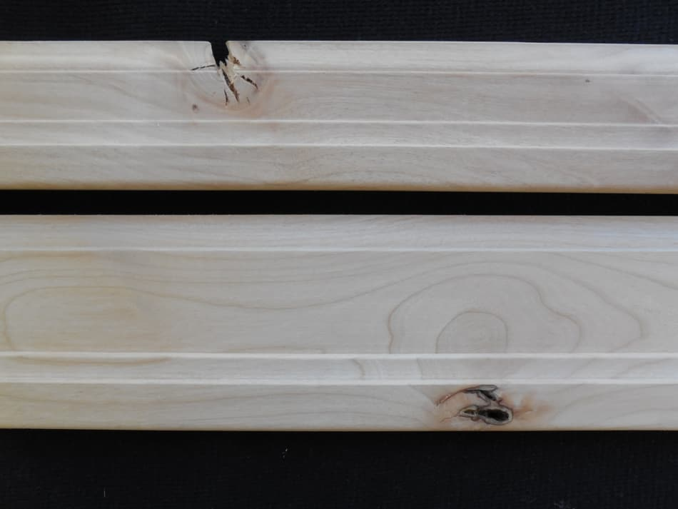 Traditional Knotty Alder Mouldings