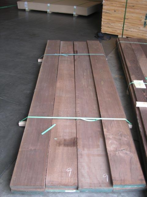 Peruvian Walnut or Nogal Lumber