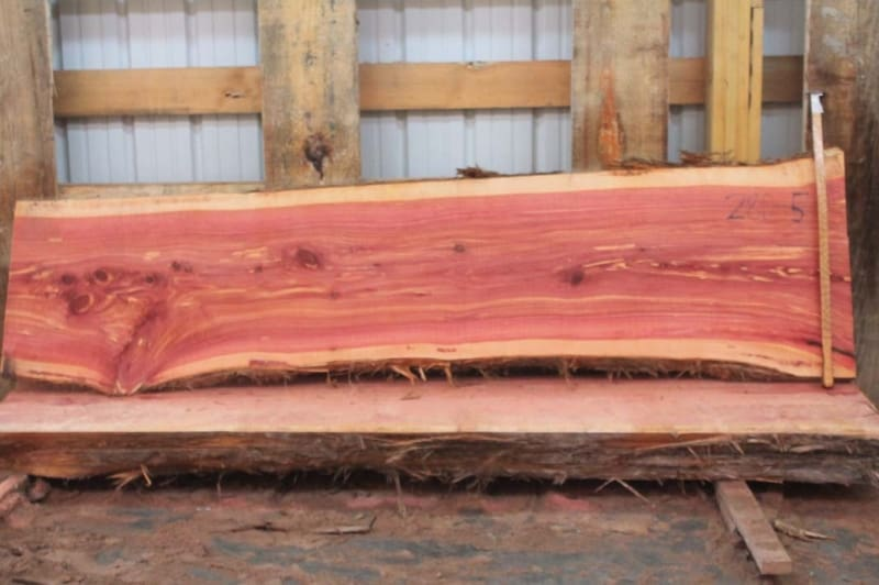 Aromatic Red Cedar Slabs (click on the slab page)