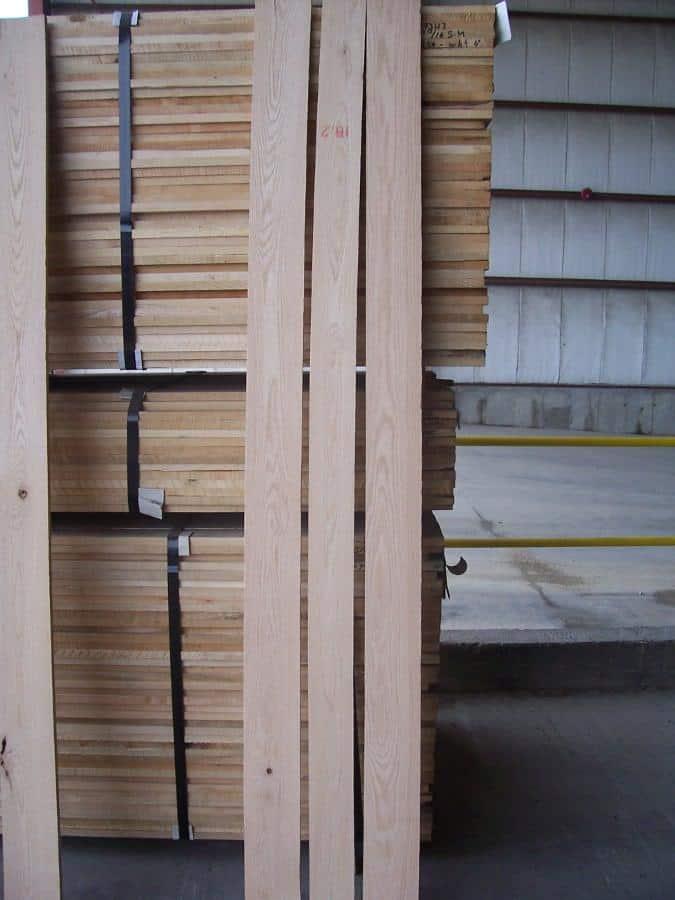 Select & Better Plain Sawn Red Oak Lumber