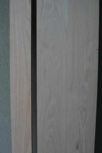 Red Oak s4s, 1x4 & 1x10 Close Up