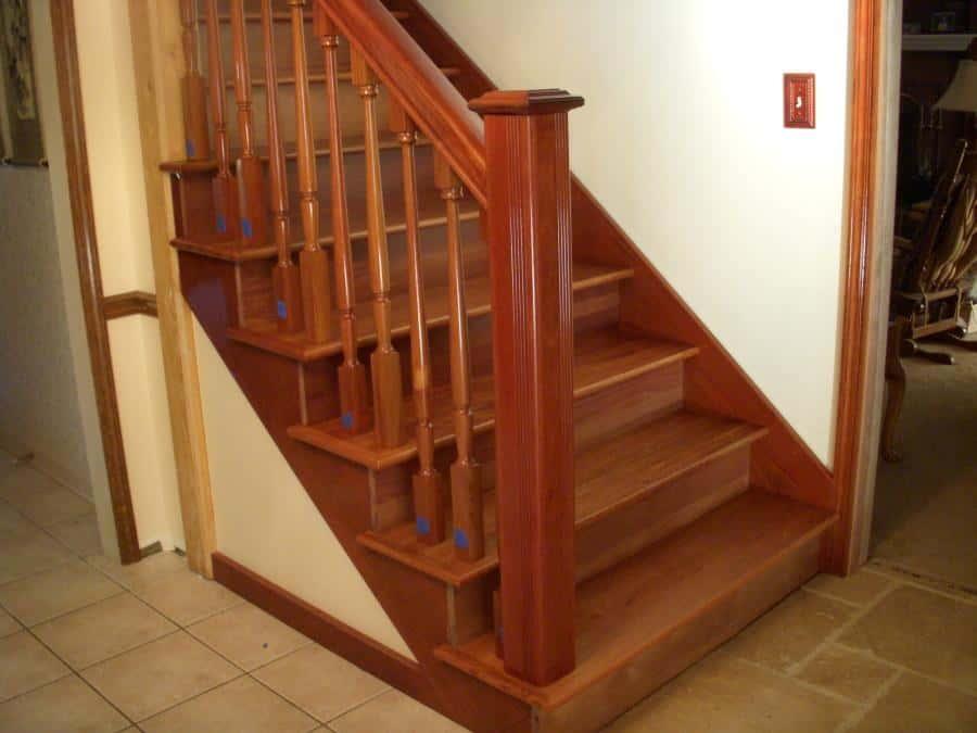 Santos Mahogany Stairs & Balisters