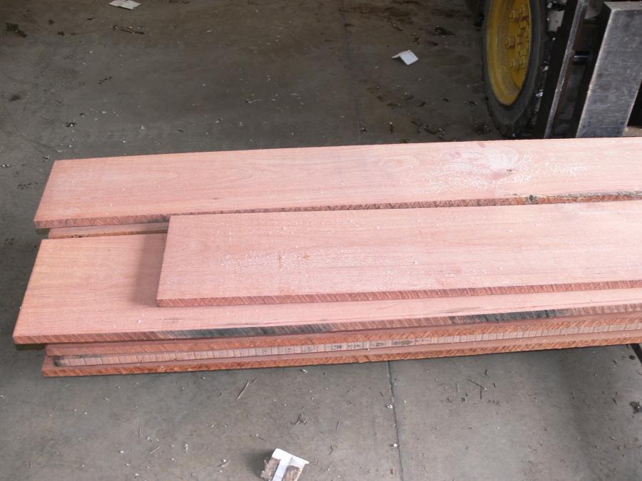 Santos Mahogany Lumber Surfaced