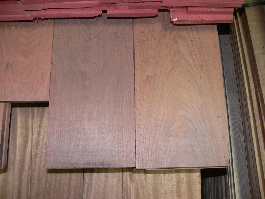 Santos Mahogany Surfaced boards