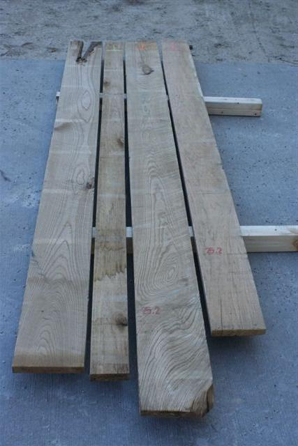 Select and Better Butternut Lumber