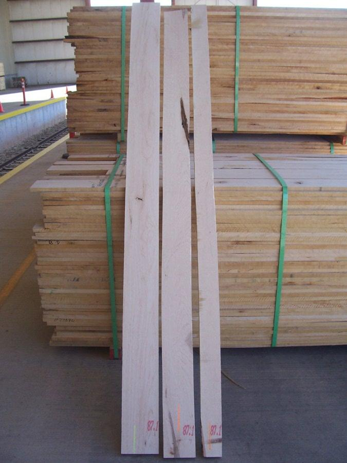 #1 Common Grade Sap 1 Face Soft Maple Lumber