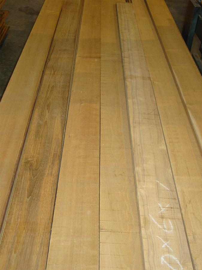 Select & Better Grade Teak Lumber