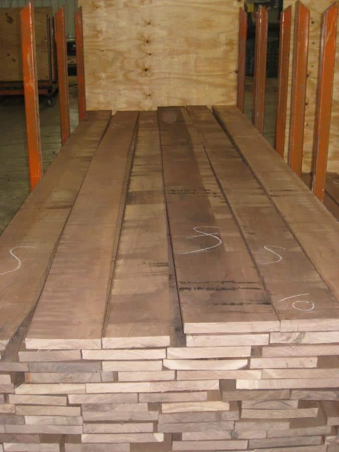 FAS Grade Wanut Lumber Rough