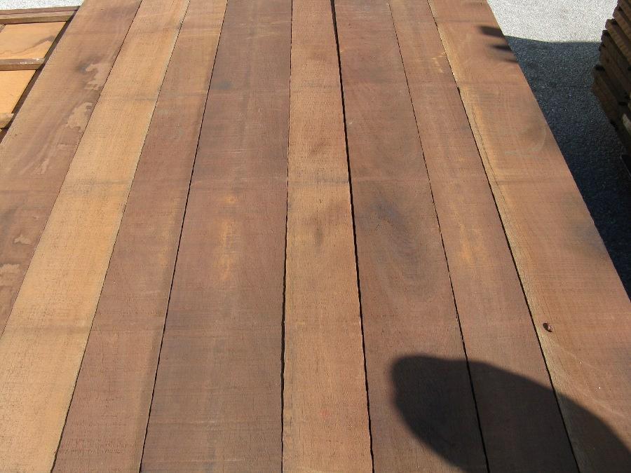 Wenge Lumber Rough Cut