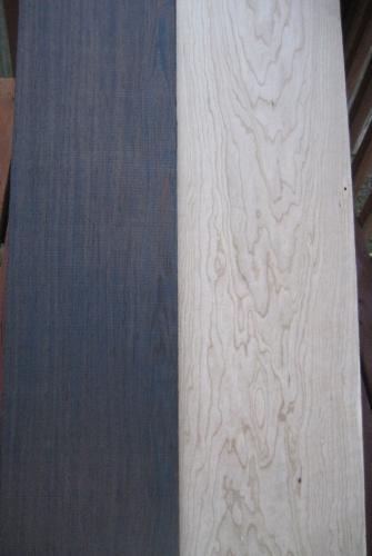 Wenge compared to Cherry