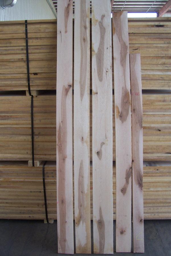 Rustic Grade Natural Color Yellow Birch Lumber