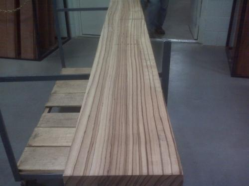 Quartersawn Zebrawood Lumber