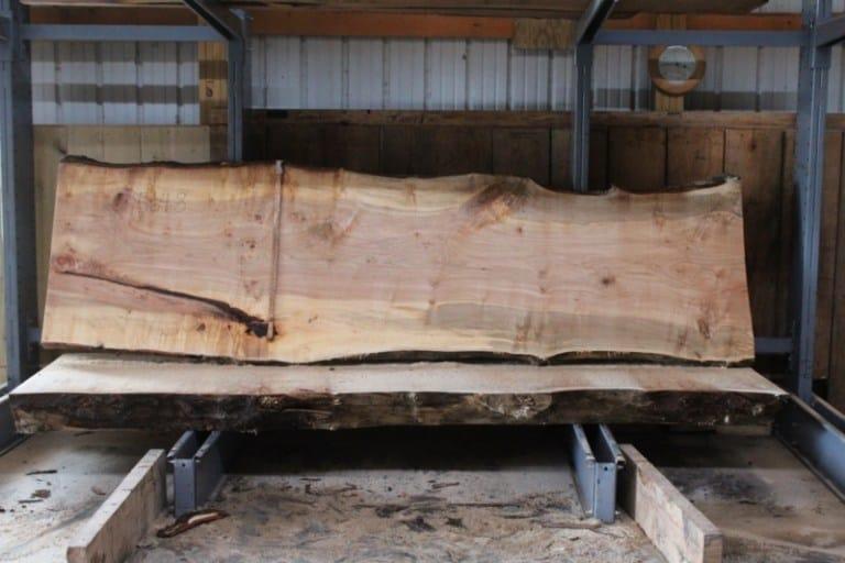 slab 564-8 rough size: 2.5″ x 31″-39″ x 11′ $1550