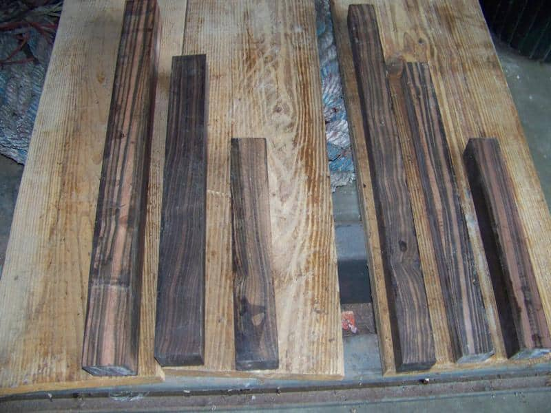 Ask about our Macassar Ebony Squares