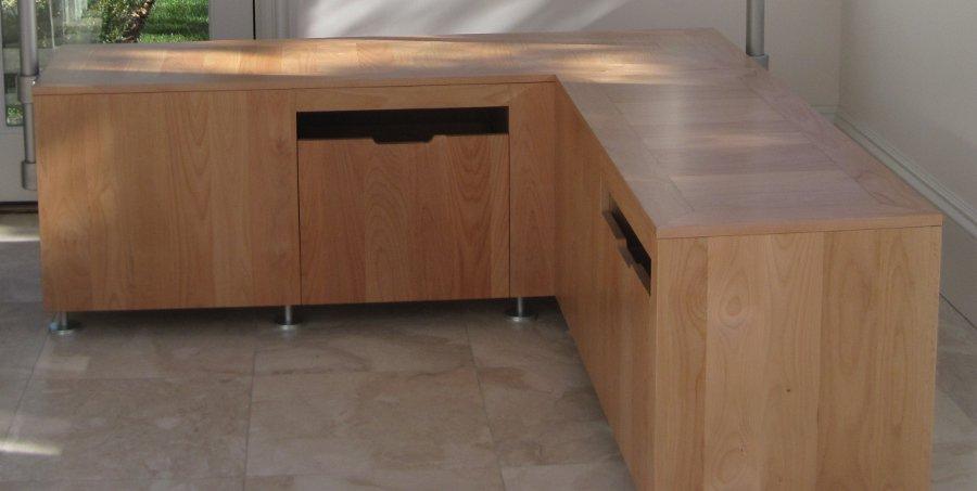 Alder Bench Made from 1x8 Superior Alder