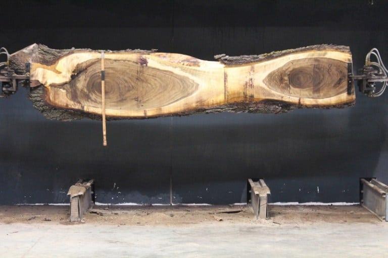 slab 754-8, rough size 2″ x 11″-23″ x 10'7″ $550