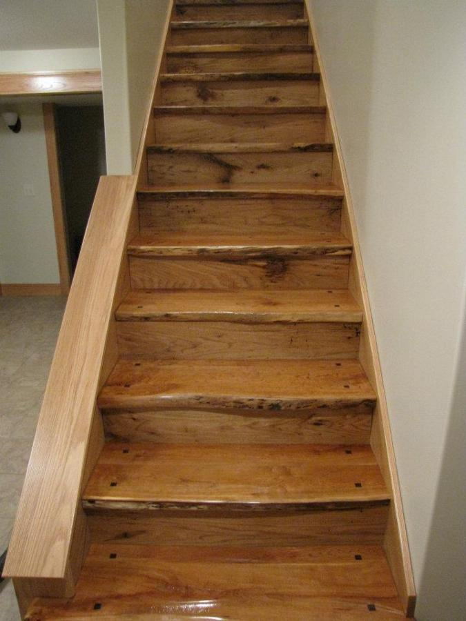 Wormy Butternut Stair Risers