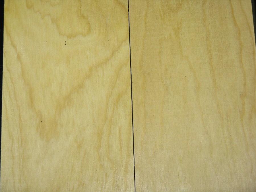 Yellowheart Lumber Color & Grain Close Up