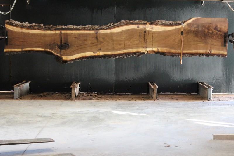 slab 748-10, rough size 2.5″ x 17″-25″ (avg. 21″) x 16′ $1500