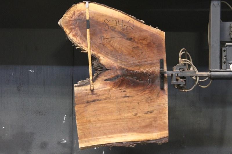 slab 824-2 rough size 2″ x 45-58″ avg. 53″ x  2′ $420