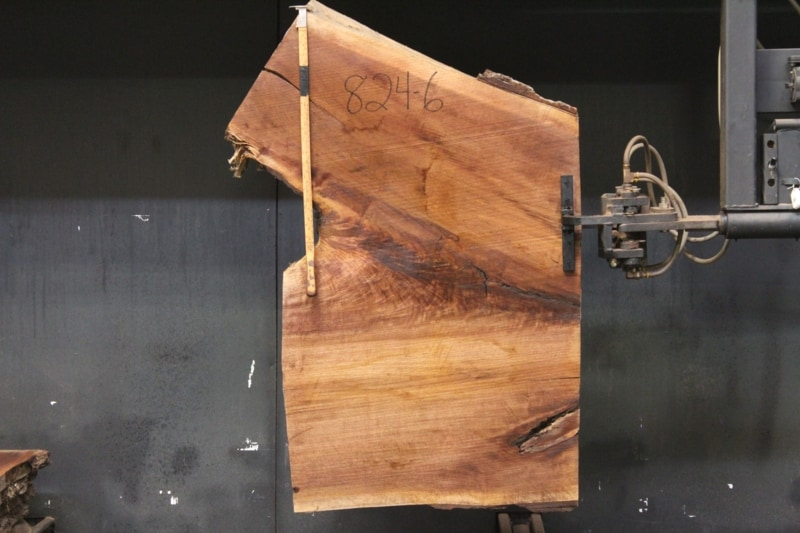 slab 824-6 rough size 2″ x 51-62″ avg. 56″x  2′ $475