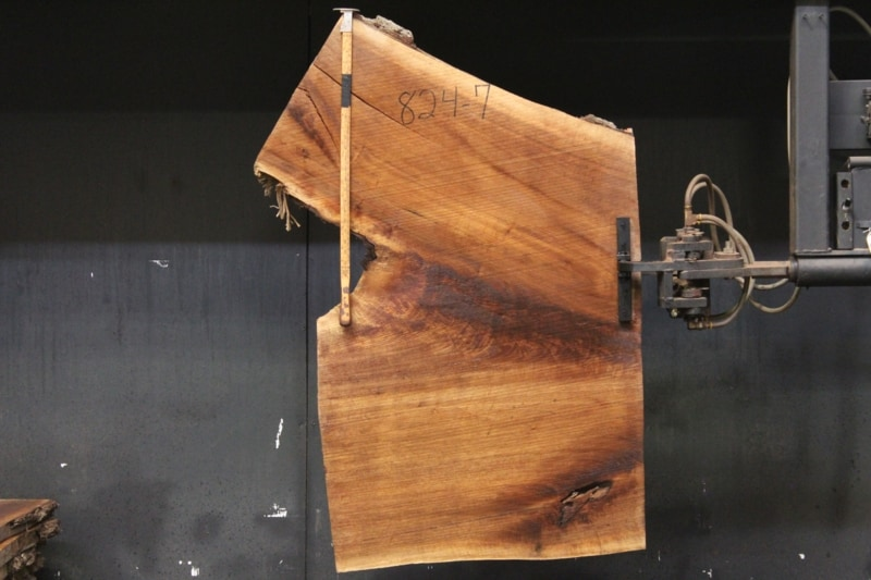 slab 824-7 rough size 2″ x 50-62″ avg. 55″x  2′ $445