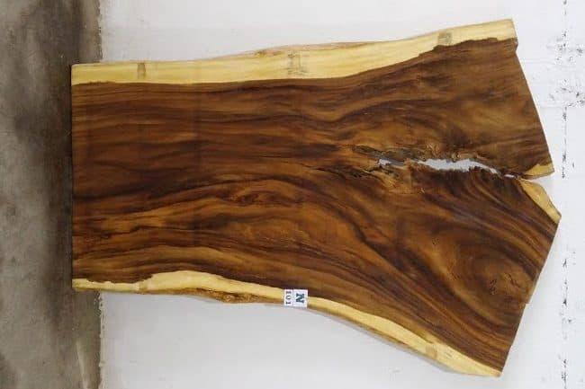 Slab N101, surfaced size 2.75″ x 79-58-53″ x  103″  $1780