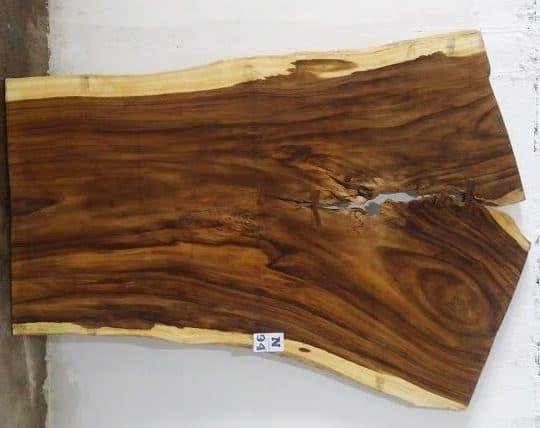 Slab N94, surfaced size 2.75″ x 80-61-56″ x  103″  $1895