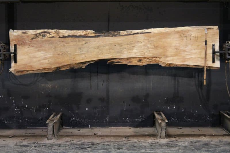 slab 949-11 surfaced size 2″ x 13-24″ avg. 16″ x 10′ $600