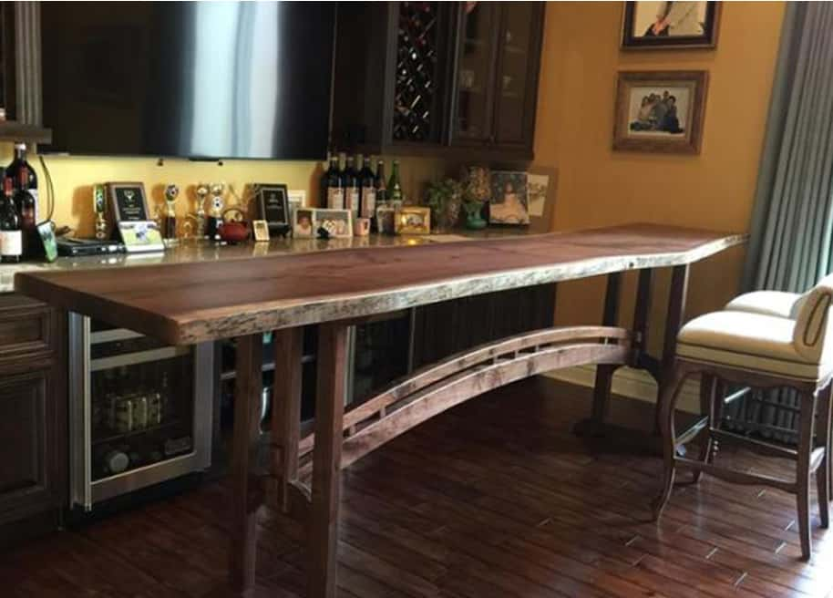 The Aspen Arch Can be made bar height or standard dining room table height