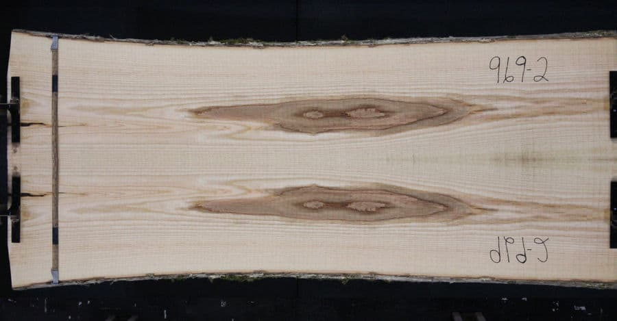 ash slabs 969-1&2 simulation, approx. size 2″ x 40″ x 8′ Both Rough Slabs $1450